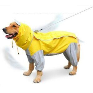 Pet Dog Outdoor Raincoat Four-legged Large Dog Coat Waterproof ClothingNEW STOCK