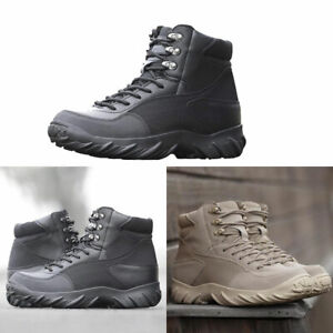 Mens Military Tactical Army Outdoor Combat Boots SWAT Hiking Desert Desert Shoes