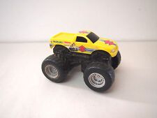 SUZUKI MONSTER TRUCK JAM HOT WHEELS MATTEL YELLOW 4x4