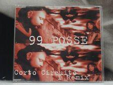 99 POSSE - CORTO CIRCUITO I REMIX CD EP PROMO NEAR MINT 6 TRACKS