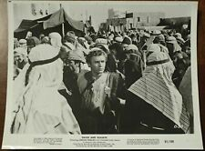 """2 MOVIE STILL Photos David And Goliath 1961, B&W 8""""x10"""", Allied Artists Pictures"""