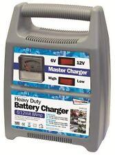 6/12v 8 Amp Heavy Duty Car Van Boat Bike Automatic Battery Master Charger #