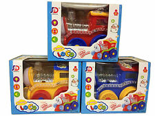 Kids Bump & Go Train flashing  Lights and Sound Music Toddler Toys