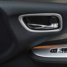 For Nissan Murano 2015-2018 Matte Interior Door Handle cup Cover Trims Ring