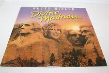 Bette Midler Divine Madness LP Vinyl Record VG+ 1980 Australian Pressing
