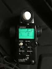 Sekonic L-758DR DigitalMaster Flash Meter - Boxed - Excellent Condition