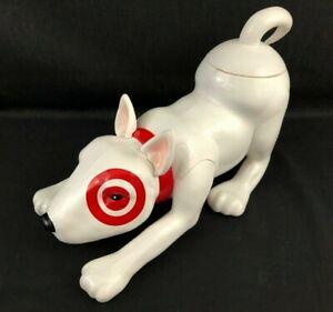 Target Mascot Bullseye Dog Gumball Dispenser with Gumballs NEW Free Exp. Ship