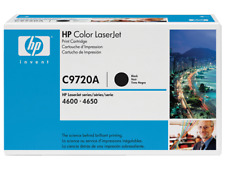 Genuine New HP 641A C9720A Black Toner OEM Factory Sealed