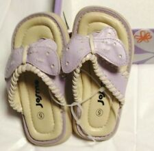 Josmo Purple Butterfly Sandals-NEW Size 5 Toddler