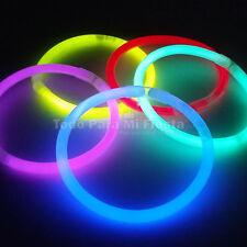 Glow Sticks Bracelet Necklace EDC Glow Rave Favor Glow Stick 300