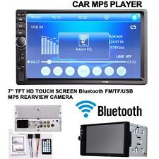 "HD 2Din 7"" Bluetooth Touch Car MP3&MP5 Player In-Dash Stereo Radio iPod 7012B TL"