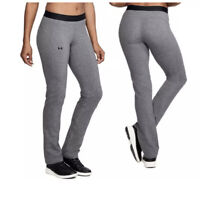 Under Armour Favorite Straight Leg Pants Charcoal Women's Size Small New C226