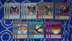 BLACKWING DECK CORE 21 CARDS LDS2 LED3 1st EDITION YUGIOH *NEW & MINT*