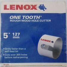 LENOX One Tooth Hole Saw 5 Inch Rough Wood CHN 25480 [N]