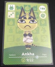 Animal Crossing amiibo Karte Serie 2 Nintendo Ankha 188 *NEU*