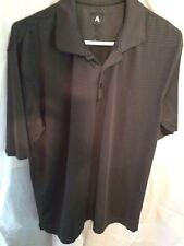 Antigua's Men's Polo Style Short Sleeve Shirt Gray Size M Cotton Blend