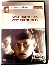 Voix Spirituelles - Alexandre SOKOUROV - dvd ZONE 2 Excellent état