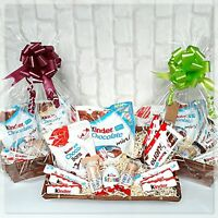 Kinder Chocolate Hamper Gift Basket Bucket Birthday Easter Party Gift