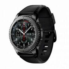 Samsung Gear S3 Frontier 33mm, Caja en Acero Inoxidable Gris, Correa Silicona Negra, Reloj para Hombre (SM-R760)