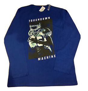The Children's Place Boys Size XX Large 16 TOUCHDOWN MACHINE Graphic Tee New