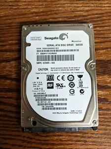 "Seagate Momentus 500GB 2.5"" SATA Hard Drive ST9500423AS"