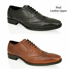 Unbranded Round 100% Leather Upper Shoes for Men