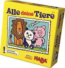 HABA Mitbringspiel Geschenkzwerge Alle deine Tiere Spielesammlung 4915  ab 3 J.