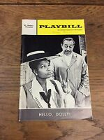 HELLO DOLLY CAB CALLOWAY & PEARL BAILEY 1968 NYC Playbill ST JAMES THEATRE