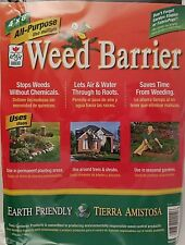 All-Purpose Weed Barrier Fabric, 4x8 ft