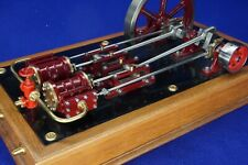 Twin Horizontal Steam Engine