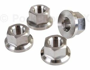 2 HARO 14mm Axle Nuts Fathub  Part #93862 New-Old-Stock Pair