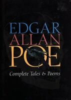 COMPLETE TALES & POEMS by Edgar Allan Poe a Hardcover book FREE USA SHIPPING