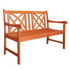 V1493 4-Foot Wood Garden Bench