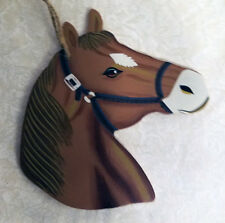 horse head wood wall sign, wall decor,