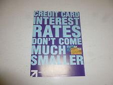 "Comic Flyer - rbs aDVANTA cREDIT CARD ""Flyer"" - Year 2006 - UK Comic"