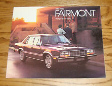 Original 1980 Ford Fairmont Sales Brochure 80 1/80 Futura Sport ES Wagon