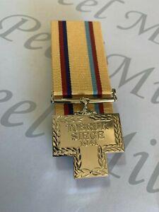 Siege of Tobruk 1941 Full Size Medal Replica.