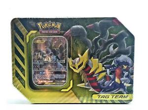 Pokémon: GX Tag Team Tin GARCHOMP & GIRATINA Brand New Factory Sealed