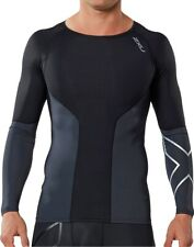 2XU Elite Long Sleeve Mens Compression Top - Black