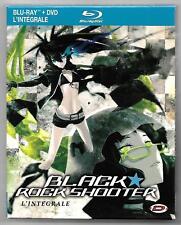 COFFRET BLU-RAY + DVD / BLACK ROCK SHOOTER INTEGRALE / COMME NEUF