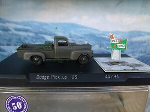 1/50 Solido (France)   MILITARY Dodge pick up  US army limited edition 50 an.
