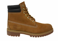 Timberland Premium 6 Inch Waterproof Wheat Leather Lace Up Mens Boots 73540