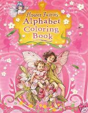Vintage Flower Fairies Victorian Adult & Colouring Book Garden Floral Fairy