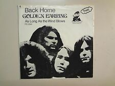 "GOLDEN EARRING: Back Home-As Long As The Wind Blows-U.S. 7"" 69 Dwarf PD 2000 PSL"