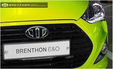 Brenthon Grill Trunk Emblem Badge For 2011~2016+ Hyundai Veloster Turbo 2PC