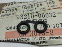 QTY 2 New OEM Yamaha FJ1200 FZR1000 TT350 TT250 XS1100 O-RING 93210-06632-00