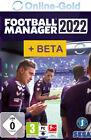 Football Manager 2022 + Beta Key - PC Steam Spiel Download Code - DE/EU