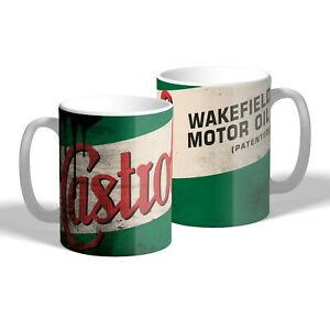 Castrol Wakefield Mug Oil Can Effect Car Motorbike Mechanic Tea Coffee Mug Gift