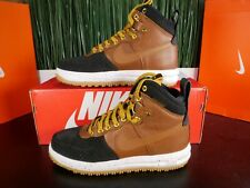 Nike Lunar Force 1 Duckboot Mens Boots Brown Black 805899 004 Size 8