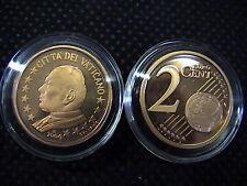 VATICANO 2004 n° 1 moneta da CENT 2 EUROCENT FONDO a SPECCHIO PROOF FS PP BE